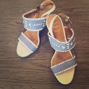 Jack Rogers wedge size 7.5M